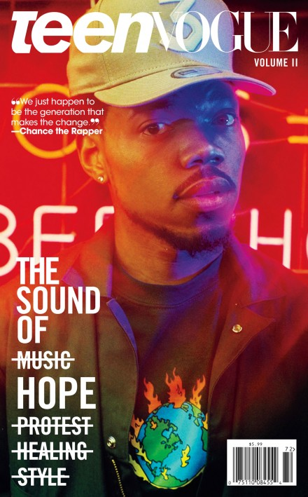 Lauren  Nikrooz - teen vogue - chance the rapper
