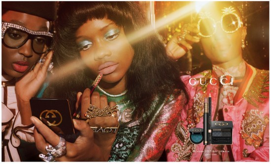 Lauren  Nikrooz - gucci - beauty